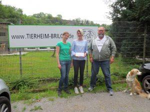 Spende des Hunde-Vitalzentrum Ludwig in Marsberg